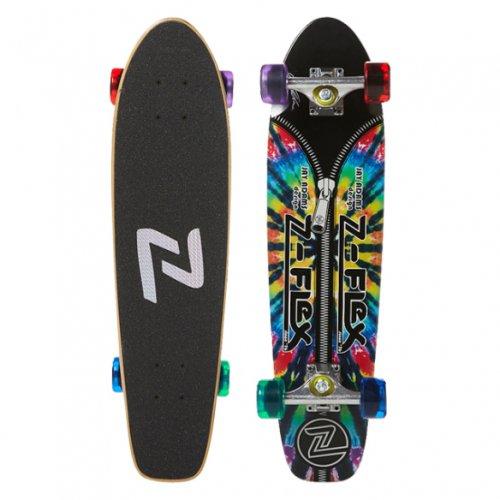 """Z-FLEX ( ジーフレックス ) クルーザースケートボード 29インチ JAY ADAMS """"ZIPPER HEAD"""" TIE DYE"""
