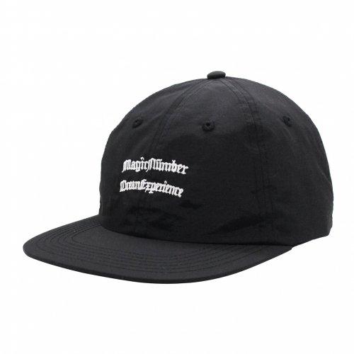 MAGIC NUMBER ( マジックナンバー ) キャップ NYLON 6PANEL CAP ( BLACK )