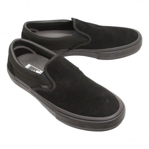 VANS ( バンズ ) SLIP-ON PRO ( BLACKOUT )