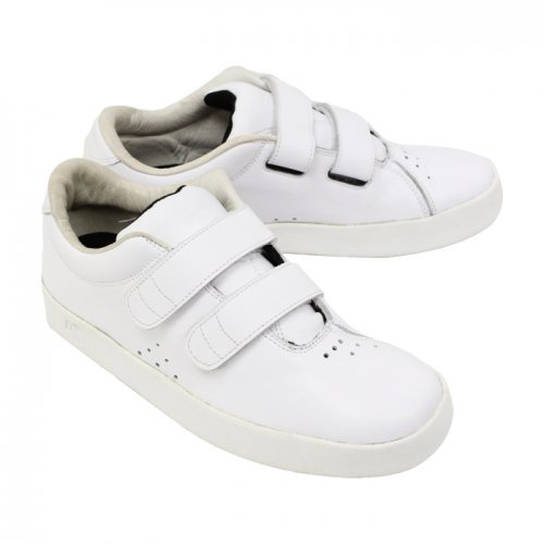 AREth ( アース ) I velcro ( WHITE LEATHER )