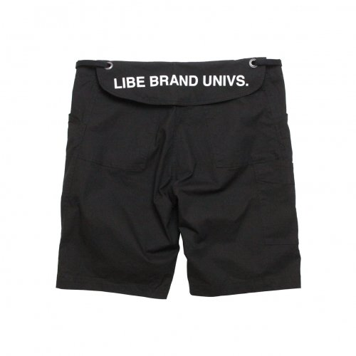 LIBE ( ライブ ) × REMILLA ( レミーラ ) ショートパンツ L&R STRETCH CARGO SHORTS ( BLACK ) 20S02