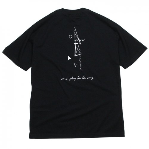 AREth ( アース ) Tシャツ GALAXY S/S TEE Designed by Nao Harada ( BLACK )