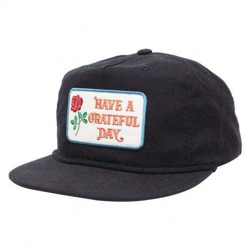 HAVE A GRATEFUL DAY ( ハブアグレイトフルデイ ) キャップ GRATEFUL DAY CAP / BOX LOGO  ( BLACK ) GWG4011HGD