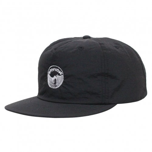 LOOPHOLE ( ループホール ) キャップ EMBROIDERED SURF CAP ( BLACK )
