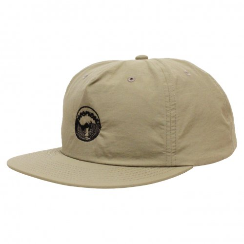 LOOPHOLE ( ループホール ) キャップ EMBROIDERED SURF CAP ( KHAKI )