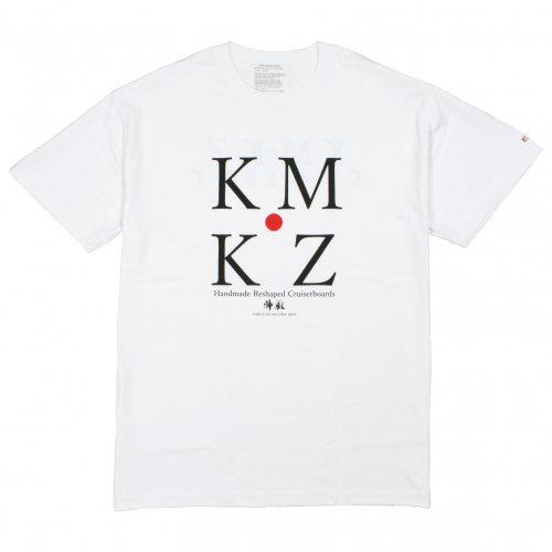 LIBE ( ライブ ) Tシャツ KMKZ-CROSS POINT TEE (WHITE) 15S45