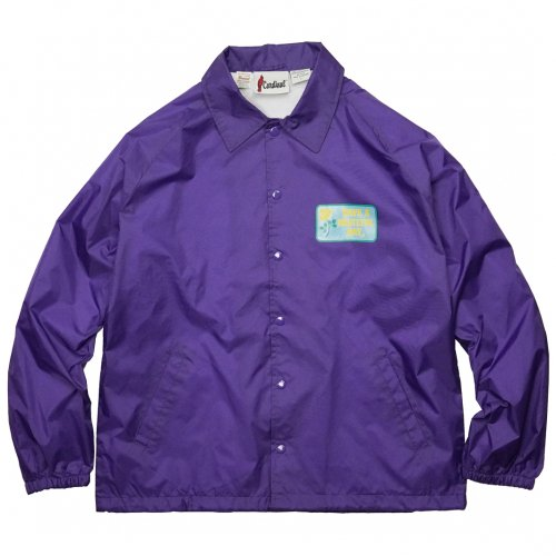 HAVE A GRATEFUL DAY ( ハブアグレイトフルデイ ) コーチジャケット COACH JACKET / BOX LOGO ( PURPLE ) GWJ5001HGD