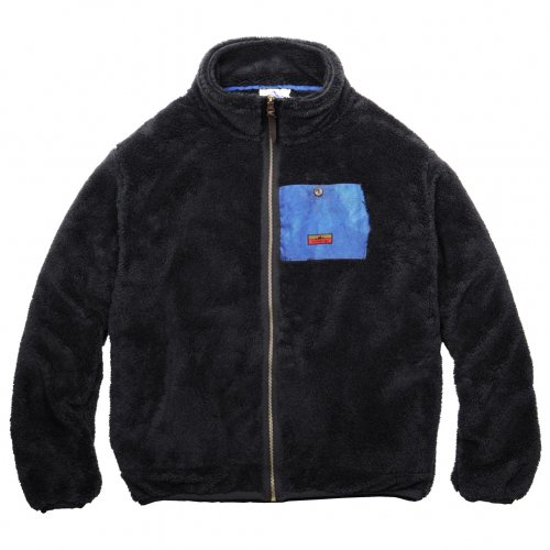devadurga ( デヴァドゥルガ ) ALBA FLEECE ZIP  ( BLACK ) dg-1159