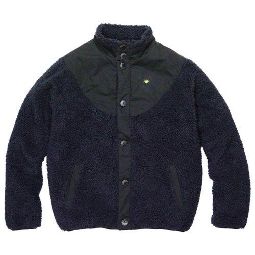 GOHEMP ( ゴーヘンプ ) ジャケット LADY'S MONGOLIAN JACKET ( BLACK BIRD ) GHJ5702BSD