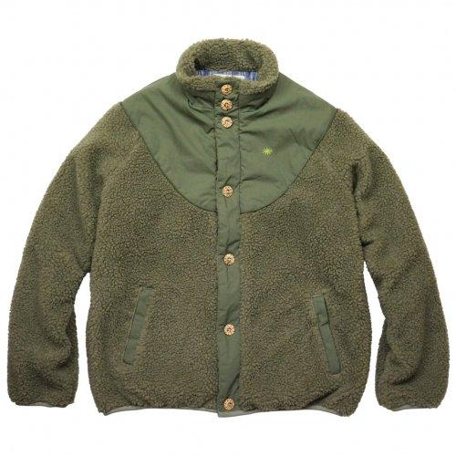 GOHEMP ( ゴーヘンプ ) ジャケット LADY'S MONGOLIAN JACKET ( BOTANIC GREEN ) GHJ5702BSD