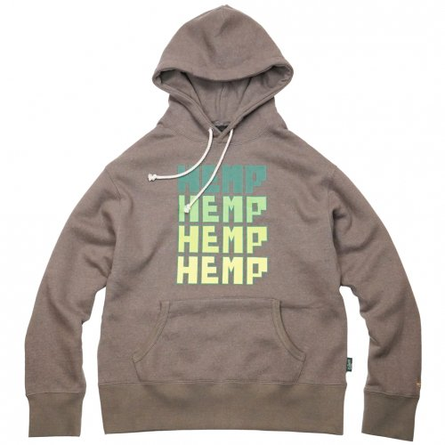 GOHEMP ( ゴーヘンプ ) プルオーバーパーカー FOR HEMP HOODY ( SKETCH KHAKI ) GHC4465NKW
