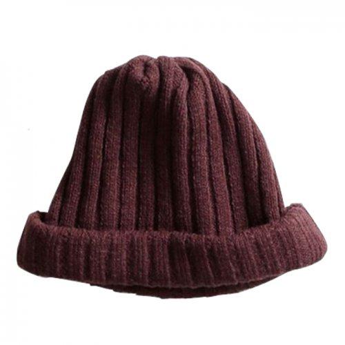 remilla ( レミーラ ) 2020A/W リブニット帽 ( ボルドーブラウン ) R203433