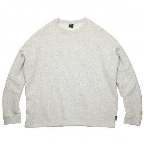 GOHEMP ( ゴーヘンプ ) クルーネック HEMP BIG CREW ( ASH HEATHER ) GHC4469BS20