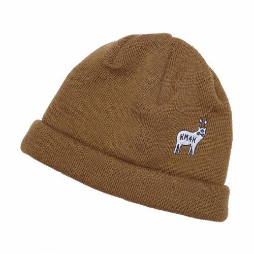 KM4K ( カモシカ ) ビーニー TEAM MANAGER BEANIE 6 ( BRONZE )