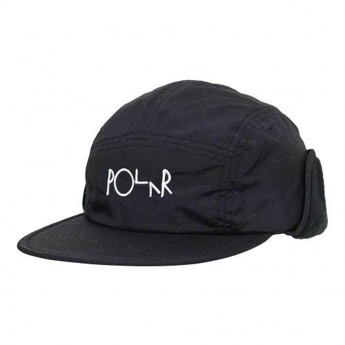 POLAR SKATE CO. ( ポーラー ) キャップ FLAP CAP ( BLACK ) WIN20