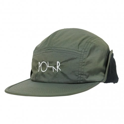 POLAR SKATE CO. ( ポーラー ) キャップ FLAP CAP ( ARMY GREEN ) WIN20