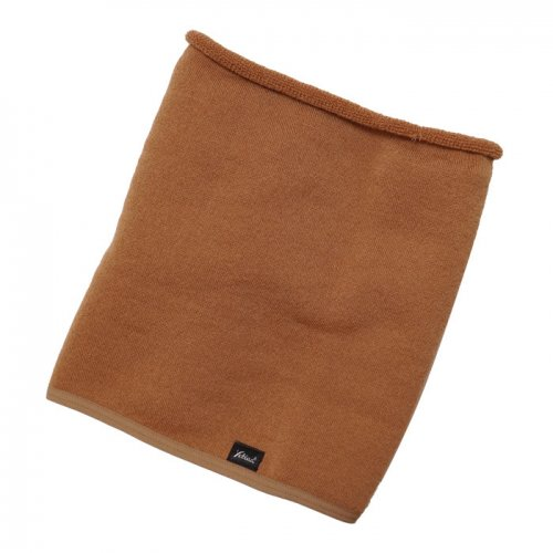 YETINA ( イエティナ ) ネックウォーマー ANTARCTICA MERINO NECK GAITER ( ORANGE BROWN )
