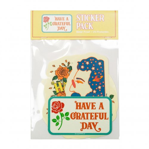 HAVE A GRATEFUL DAY ( ハブアグレイトフルデイ ) ステッカー STICKERS PACK GDG0035