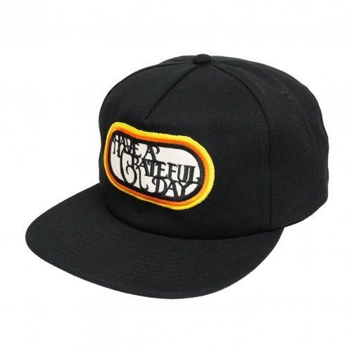 HAVE A GRATEFUL DAY ( ハブアグレイトフルデイ ) キャップ GRATEFUL DAY CAP ( BLACK ) GWG4015HGD