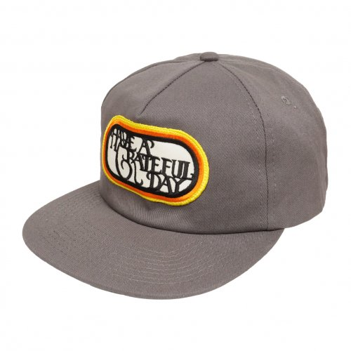 HAVE A GRATEFUL DAY ( ハブアグレイトフルデイ ) キャップ GRATEFUL DAY CAP ( CHARCOAL ) GWG4015HGD
