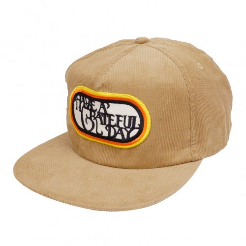 HAVE A GRATEFUL DAY ( ハブアグレイトフルデイ ) キャップ GRATEFUL DAY CORDUROY CAP ( BEIGE ) GWG4016HGD