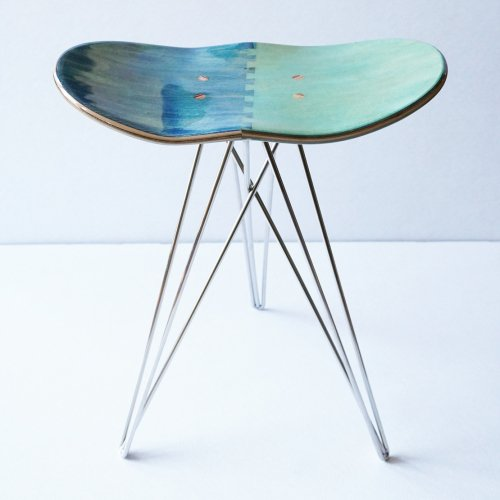 CORE ( コア ) STOOL ( BLUE × MINT )