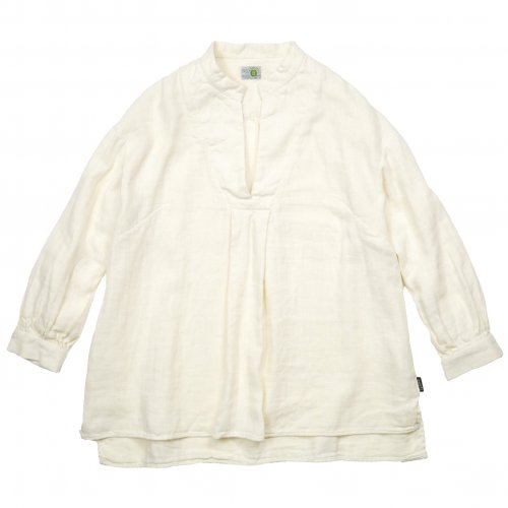GOHEMP ( ゴーヘンプ ) シャツ LADY'S HEALING SHIRTS ( OFF WHITE ) GHS7133HRG