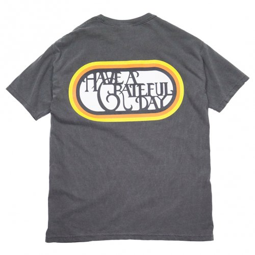 HAVE A GRATEFUL DAY ( ハブアグレイトフルデイ ) Tシャツ GRATEFUL DAY T-SHIRTS / SF LOGO ( BLACK ) GDC0010