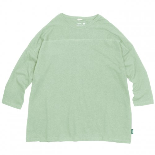 GOHEMP ( ゴーヘンプ ) ワイドフットボールTシャツ BASIC WIDE FOOTBALL TEE ( PALE GREEN ) GHC4298RG