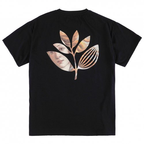 MAGENTA ( マジェンタ ) Tシャツ BOTTICELLI PLANT TEE ( BLACK ) SP21