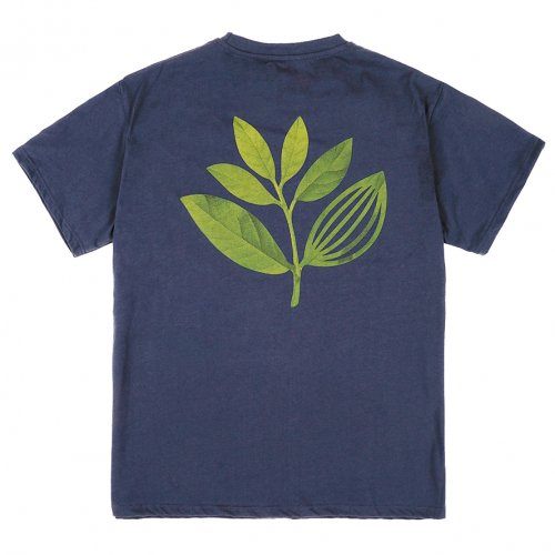 MAGENTA ( マジェンタ ) Tシャツ TRUE LEAF TEE ( NAVY ) SP21