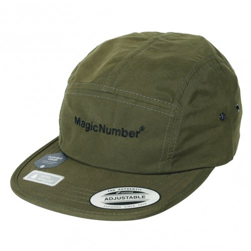 MAGIC NUMBER ( マジックナンバー ) キャップ WATER PROOF JET CAP ( OLIVE )