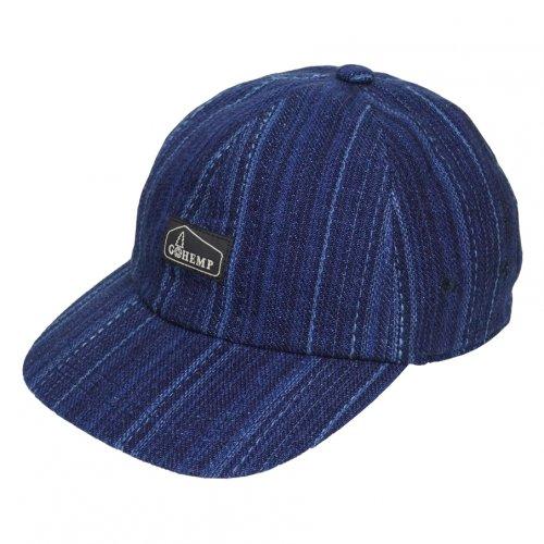 GOHEMP ( ゴーヘンプ ) キャップ HEMP PANEL CAP ( INDIGO ) GHG0226DTP