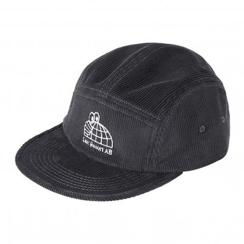 LAST RESORT AB ( ラストリゾートエービー ) キャップ HALF GLOBE CORDUROY 5-PANEL CAP ( GREY )