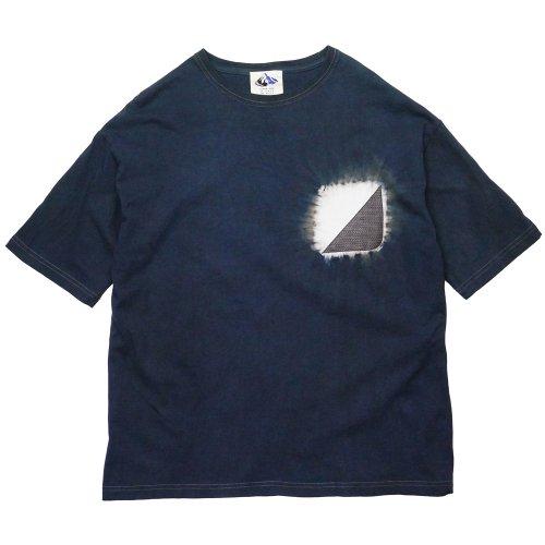 devadurga ( デヴァドゥルガ ) Tシャツ PONGEE WIDE CUT SEW ( D.NAVY ) dg-1206