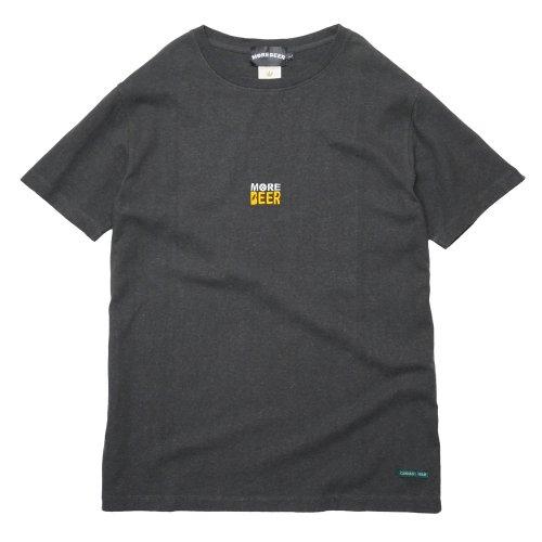 JAVARA ( ジャバラ ) Tシャツ MORE BEER CLASSIC LOGO HEMP TEE ( BLACK )