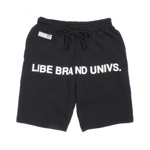 LIBE ( ライブ ) SWEAT HALF PANTS-15 (BLACK) 15S08