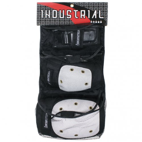 INDUSTRIAL (インダストリアル) 3 in 1 PAD SET (WHITE/BLACK) 子供用パッドセット