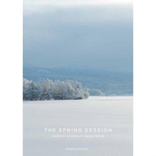 GENTEMSTICK ( ゲンテンスティック ) 「THE SPRING SESSION 〜modern snowsurf experience〜」 ( SNOWBOARD DVD )