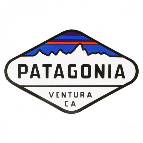 PATAGONIA ( パタゴニア ) ステッカー FITZ ROY CREST STICKER