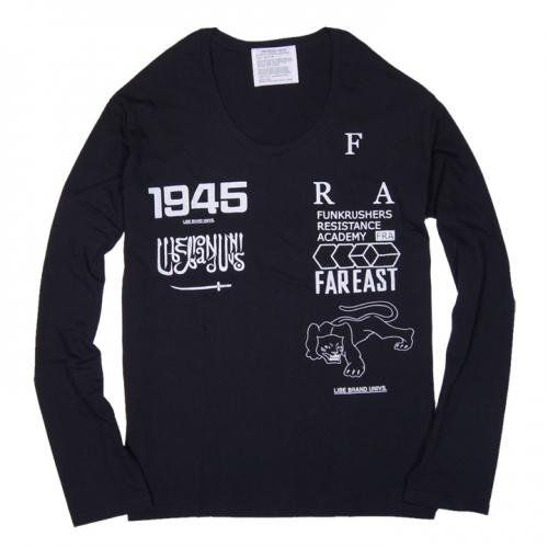 LIBE (ライブ) FRA U-NECK LONG SLEEVE 12A32