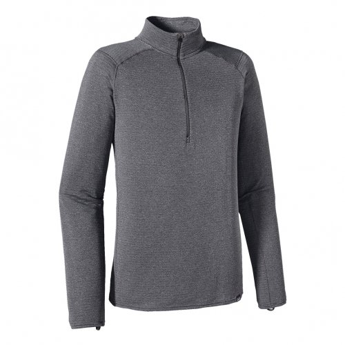 【30%OFF】PATAGONIA (パタゴニア) MEN'S CAPILENE THERMAL WEIGHT ZIP-NECK (FORGE GREY) 43657