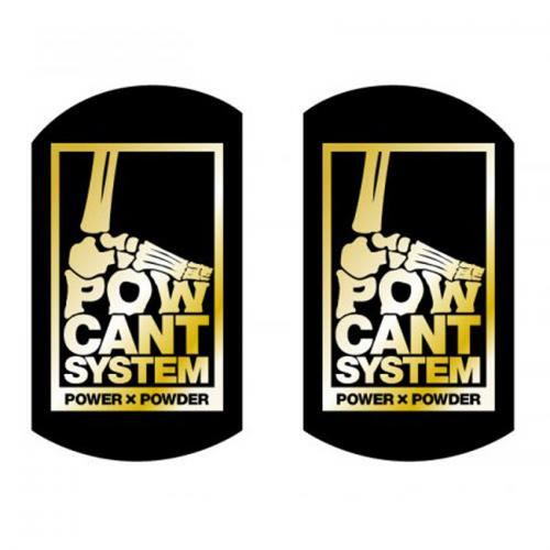 POW CANT SYSTEM (パウカントシステム) カラービス&ワッシャースペシャルセット15mm vis ver. (BLACK/GOLD)