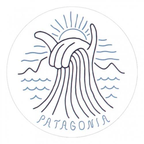 PATAGONIA ( パタゴニア ) ステッカー SHAKA WAVE STICKER