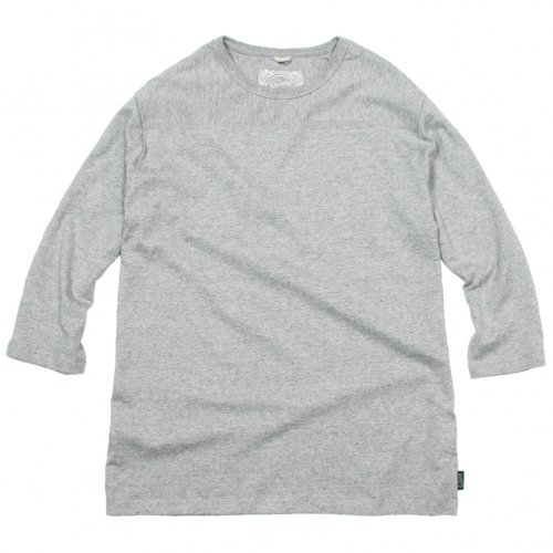 GOHEMP (ゴーヘンプ) BASIC MEN'S FOOTBALL TEE (HEATHERカラー) GHC4202TP5