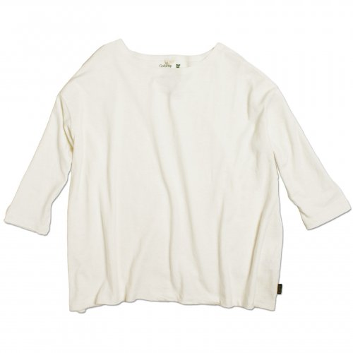GOHEMP ( ゴーヘンプ ) LADY'S SUNNY WIDE TEE ( NATURAL ) GHC4287RG
