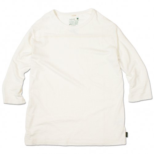 GOHEMP ( ゴーヘンプ ) フットボールTシャツ BASIC LADY'S FOOTBALL TEE ( NATURAL ) GHC4202RG18