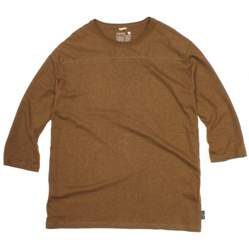 GOHEMP ( ゴーヘンプ ) フットボールTシャツ BASIC LADY'S FOOTBALL TEE ( FIELD WOOD ) GHC4202RG18