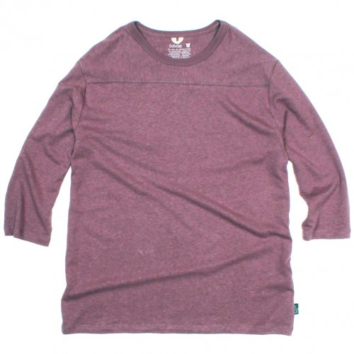 GOHEMP ( ゴーヘンプ ) フットボールTシャツ BASIC LADY'S FOOTBALL TEE ( ACAI PALM ) GHC4202RG18