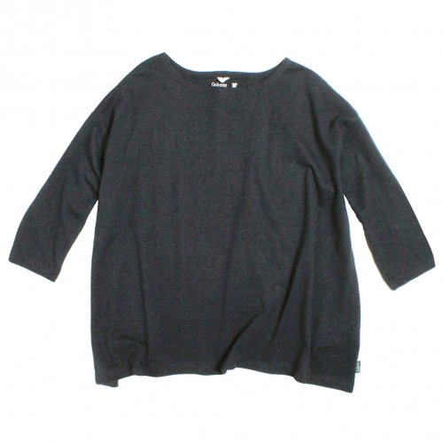 GOHEMP ( ゴーヘンプ ) LADY'S SUNNY WIDE TEE ( GUNMETAL GRAY ) GHC4287RG